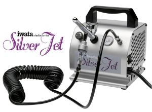 Iwata Silver Jet airbrush system